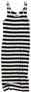 Divided by H&M short dress GRAY/BLACK Striped And on Tradesy
