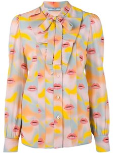 Prada Button Down Shirt Multi