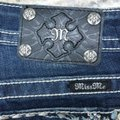 Miss Me Blue Dark Rinse Signature Boot Cut Jeans Size 29 (6, M) Miss Me Blue Dark Rinse Signature Boot Cut Jeans Size 29 (6, M) Image 3