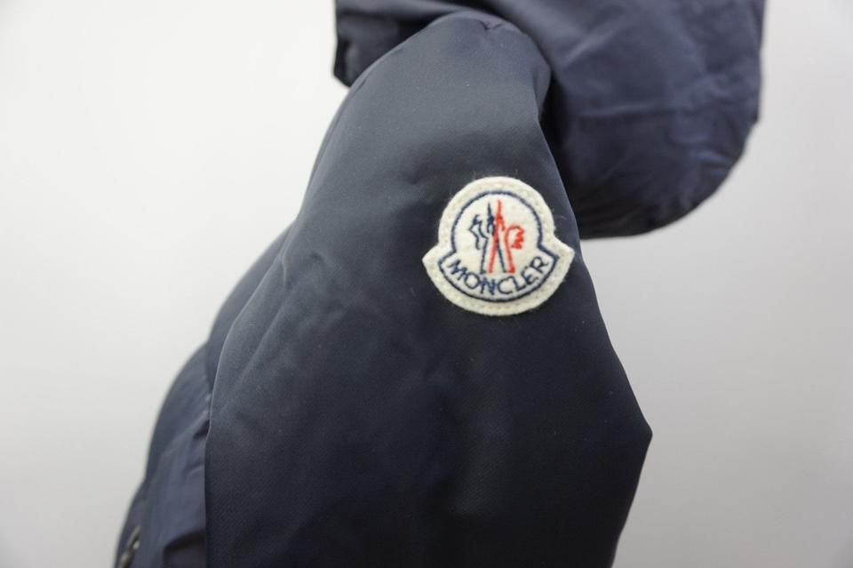 3f84413b2dab Moncler Blue Blois Quilted and Wool-blend Puffer Girls Jacket Years ...