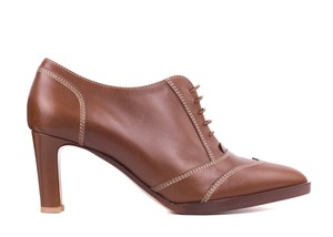 Gianvito Rossi Cut-out Suede brown Pumps