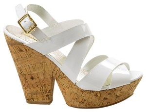 Wild Pair White Platforms