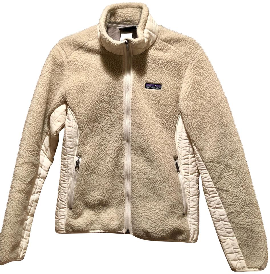 Patagonia Natural Women's Classic Retro-x® Fleece #23074 Jacket Size 8 (M)  44% off retail