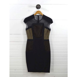 Lela Rose Fall Party Mesh New York Winter Dress