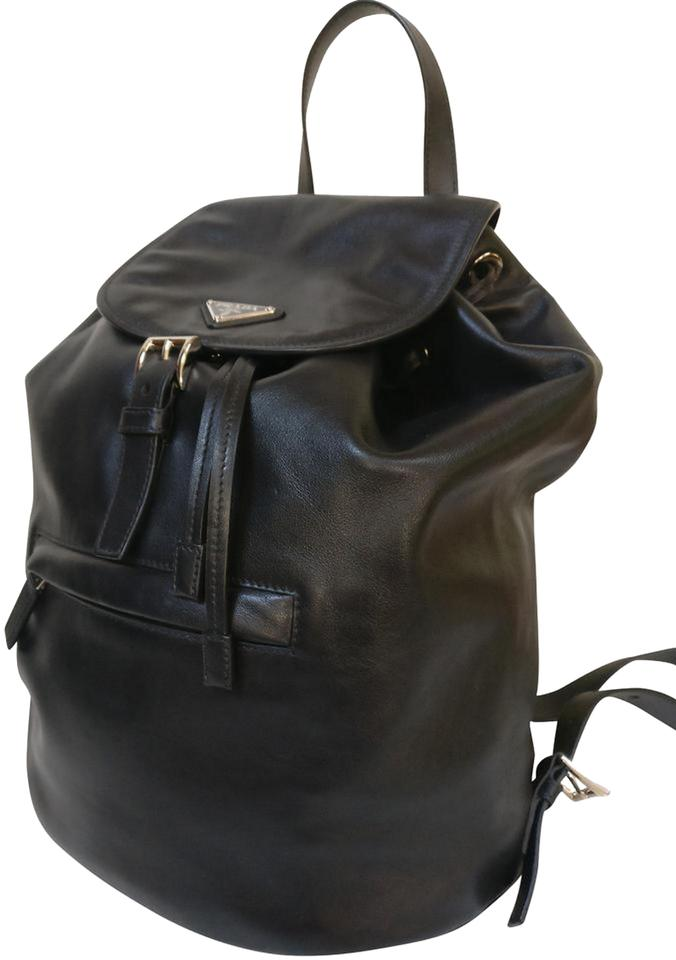 da93a58b5619 ... black leather backpack 874d2 6d39d low cost prada backpack prada  backpack 213f4 46d1b ...