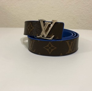 Louis Vuitton LOUIS VUITTON MONOGRAM LV INITIALES REVERSIBLE 30MM - SIZE 80