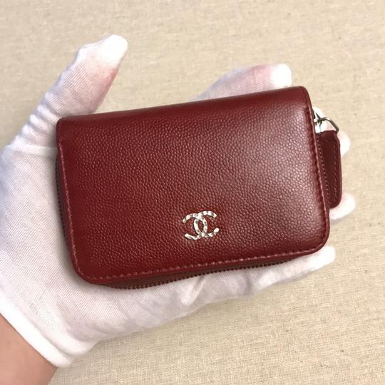 red coin wallet
