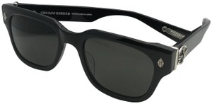 237d2b2507cd Chrome Hearts CHROME HEARTS Sunglasses GIVENHED BK 52-21 145 Black    Sterling Silver