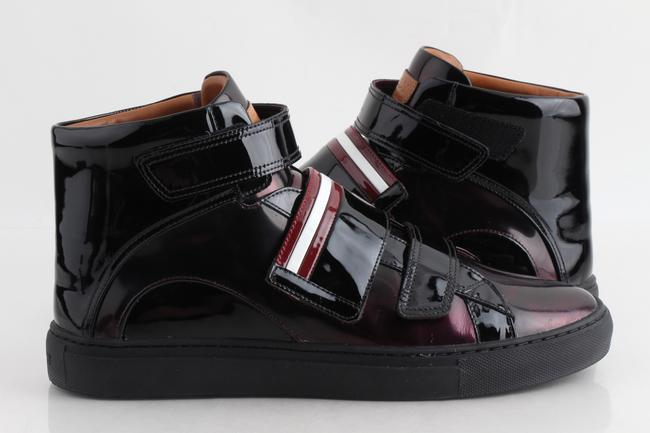 Item - Multicolor Herrick Metallic Patent Leather High-top Sneakers Shoes