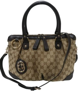 98fce898c854 Gucci Gg Monogram Supreme Sukey Cross Body Bag