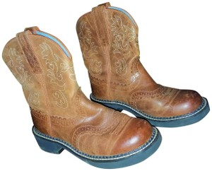 Ariat Cowgirl Cowboys Western Brown Boots