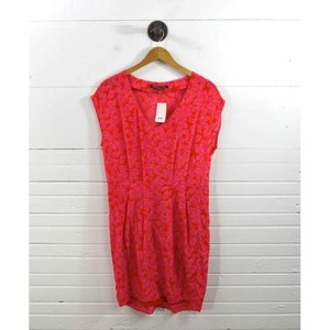Comptoir des Cotonniers short dress RED/PINK Summer Bright Comfortable on Tradesy