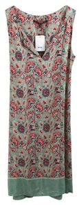 Comptoir des Cotonniers short dress BLUE/RED/PINK Summer Floral Flowy Comfortable on Tradesy