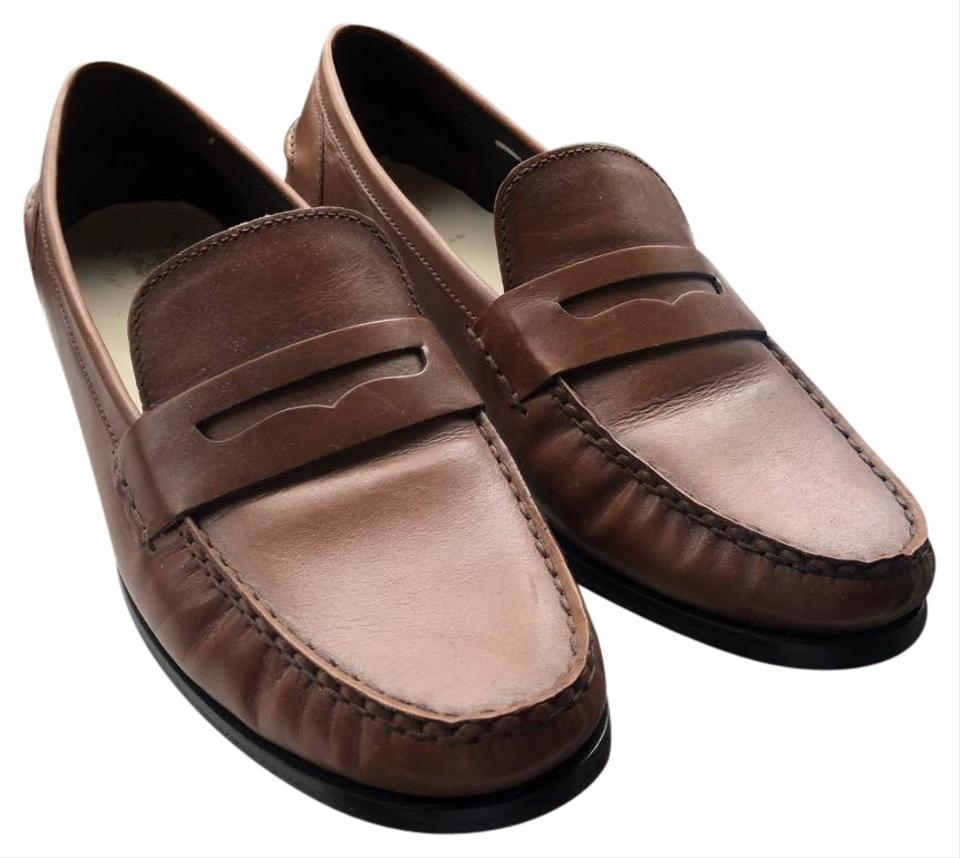 Cole Haan Brown Penny Loafer Flats Size Us 10 Wide C D Tradesy