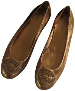 Gucci Gold/Copper Flats
