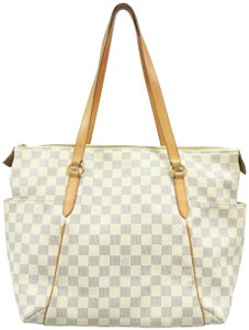 Louis Vuitton Lv Damier Azur Canvas Totally Mm Shoulder Bag