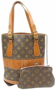 Louis Vuitton Marais Bucket Backet Noe Set Tote in Brown