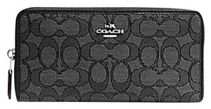 Coach COACH ACCORDION ZIP WALLET Signature 54633 NWT