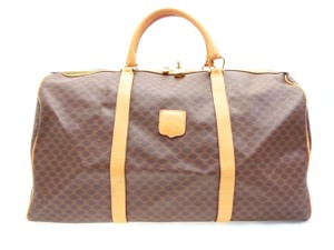 Céline Boston Duffle Gym Keepall Speedy Brown Travel Bag