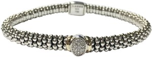 Lagos LAGOS Diamond Twilight 6mm Caviar Bracelet 05-80597-007