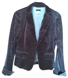 J.Crew Velvet Brown Chocolate Small Xs 4 Fall chocolate velvet Blazer