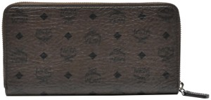 MCM Large Zip Around wallet