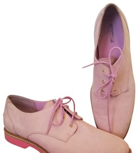 Sperry Oxford Suede Pink Flats