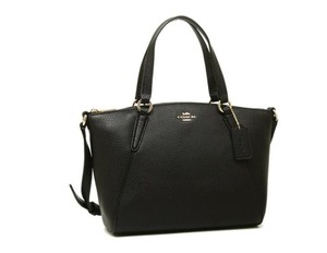Coach Metallic Hobo Purse Satchel in black