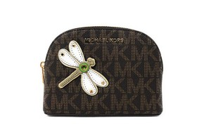 Michael Kors Michael kors jet set travel pouch cosmetic case box dragon fly large