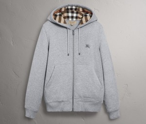 Burberry Check Sweatshirt