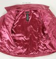 For Joseph Suede Satin Pink Leather Jacket Image 1