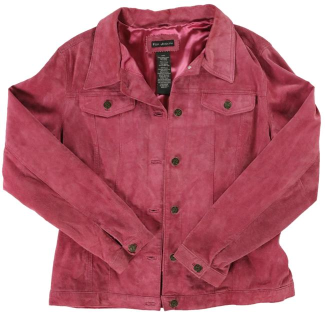 Preload https://img-static.tradesy.com/item/24473613/for-joseph-pink-classic-styling-in-suede-fully-lined-fabric-jacket-size-12-l-0-1-650-650.jpg