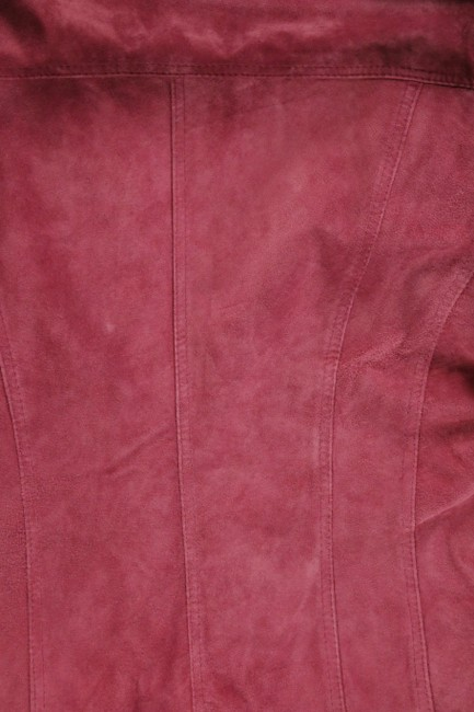 For Joseph Suede Satin Pink Leather Jacket Image 7