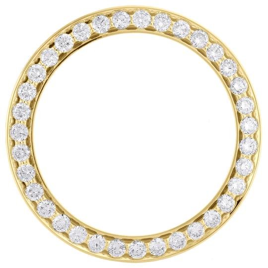 Preload https://img-static.tradesy.com/item/24473722/jewelry-for-less-yellow-gold-14k-bead-set-prong-diamond-bezel-36mm-rolex-datejust-350-ct-watch-0-0-540-540.jpg