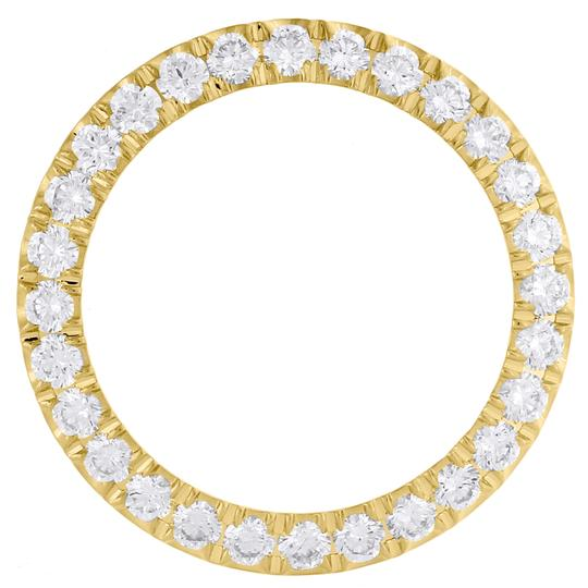 Jewelry For LEs Diamond Bezel U CUT 4-Prong For Ladies 26mm Rolex DateJust Watch 2CT. Image 1