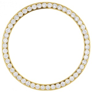 Jewelry For Less Solid Bead-Set Diamond Bezel For 36mm Rolex DateJust Day-Date 1.57 CT.