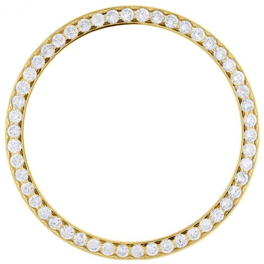 Jewelry For Less Solid Bead-Set Diamond Bezel For 36mm Rolex DateJust Day-Date 1.57 CT. Image 1