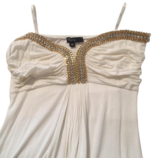 Preload https://img-static.tradesy.com/item/24473774/sky-off-white-with-gold-c532rx-short-night-out-dress-size-8-m-0-1-650-650.jpg