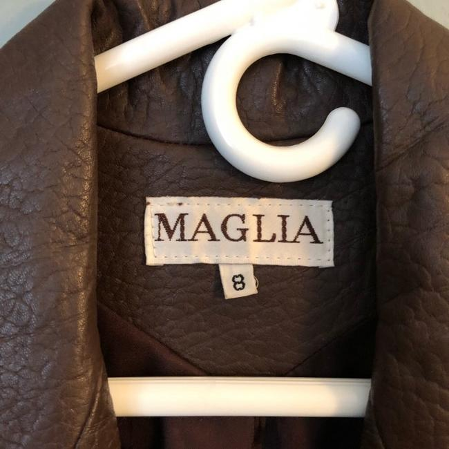 Maglia brown Leather Jacket Image 1