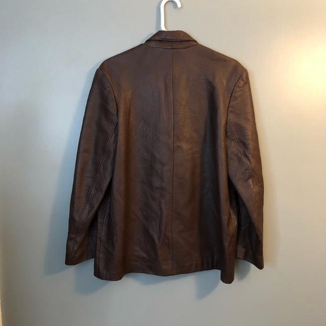 Maglia brown Leather Jacket Image 2