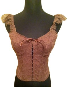 Shoshanna Top Brown