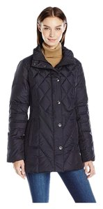 London Fog Down Midcalf Maxi Removable Hood Coat