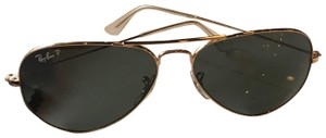Ray-Ban Ray Ban Polarized Aviator Sunglasses