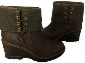 Timberland chocolate brown Boots