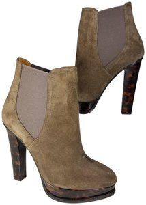 Ralph Lauren Collection Platform Pull-on Goring Ankle-boot taupe Boots
