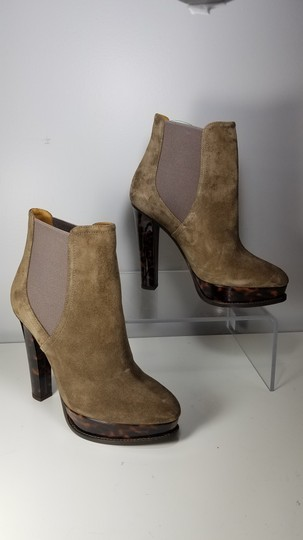 Ralph Lauren Collection Platform Pull-on Goring Ankle-boot taupe Boots Image 1
