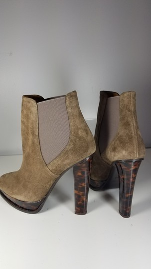 Ralph Lauren Collection Platform Pull-on Goring Ankle-boot taupe Boots Image 5