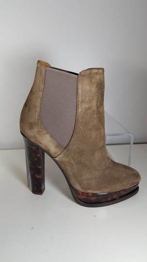 Ralph Lauren Collection Platform Pull-on Goring Ankle-boot taupe Boots Image 6