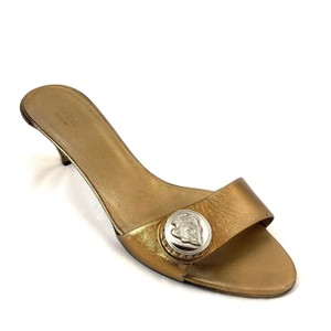 16212c42653 Gold Gucci Mules   Clogs - Up to 90% off at Tradesy