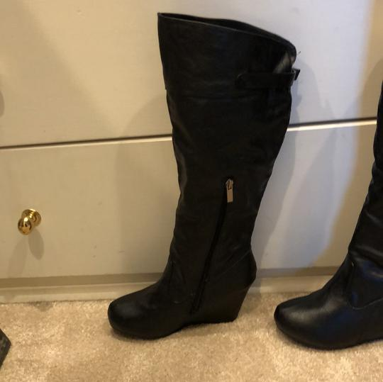 Bamboo black Boots Image 1